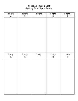 No-Prep Spelling Activity Packet - Final ER Sound Patterns