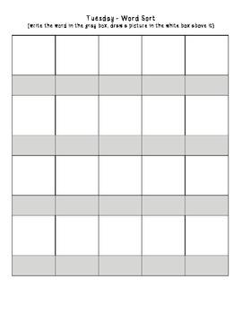 No-Prep Spelling Activity Packet - Homophones