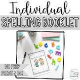 Spelling booklet - no prep. Includes 220 Dolch high frequency words.