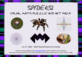 No Prep Spider Pack - Math, Puzzles & Amazing Geometric Art