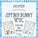 No Prep Spring Bunny Articulation