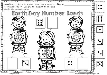 No Prep Spring Holiday Math and Literacy Printables