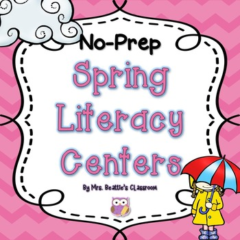 NO PREP Spring Literacy Centers