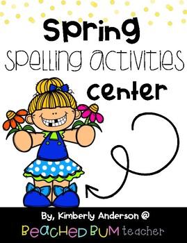 No Prep: Spring Word Work - Word Study / Spelling / Sight Words