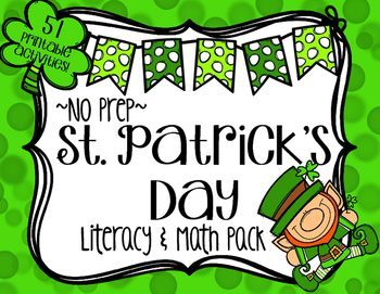 St. Patrick's Day No Prep