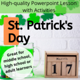 No Prep - St. Patrick's Day PPT with Activities and Quiz