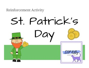 No-Prep St. Patrick's Day Reinforcement Activity