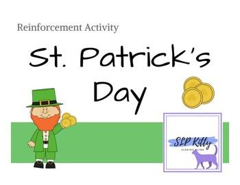 No-Prep St. Patrick's Day Reinforcement Activity