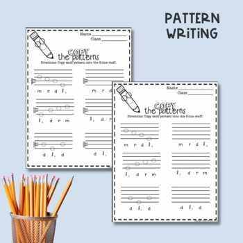No Prep Staff Writing Low La Worksheets