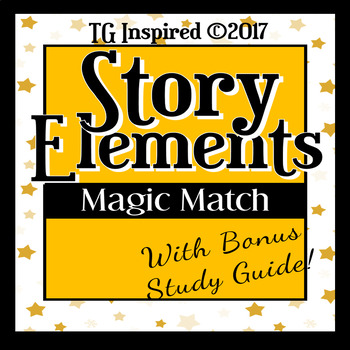 No-Prep! Story Elements + Study Guide:Use as Assignment or Assessment!
