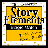 25 Story Elements Magic + Study Guide: No prep! Assignment