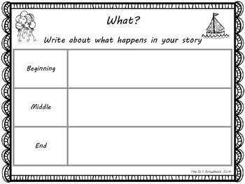 No Prep Story Planning Freebie
