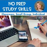 No Prep Study Skills Lesson