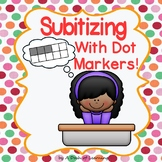 No Prep Subitizing Dot Marker Freebie!