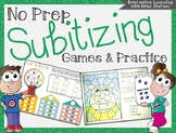 No Prep Subitizing Games