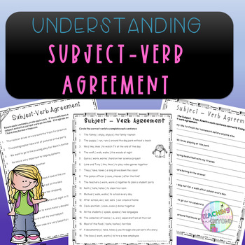 No-Prep Subject-Verb Agreement