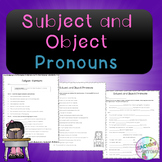 No-Prep - Subject and Object Pronouns
