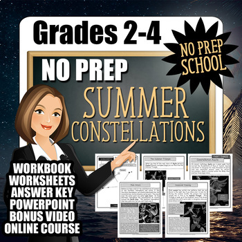 No-Prep Summer Constellations Resource Pack