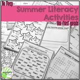 Summer Literacy Activities for First Grade