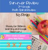 No Prep_Summer Math_Spiral Review for 3rd Grade