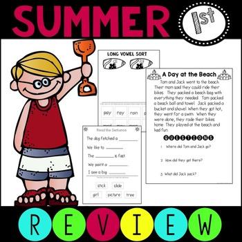 Summer Review Packet ELA Language Arts