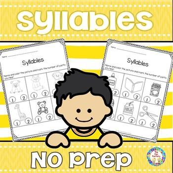 No Prep Syllables