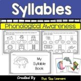 No Prep Syllable Worksheets