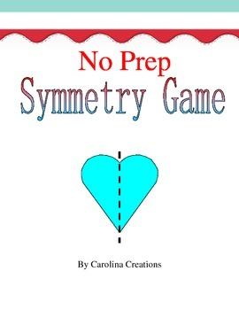 No Prep Symmetry Game 4.G.A.3