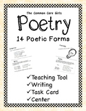 No Prep Teach and Write Poetry: A 14 Poem Pattern Resource