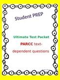 Test Prep/Text Dependent Questions & Skeleton Test for PAR