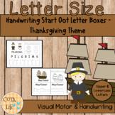 No Prep Thanksgiving Handwriting Fun Packet