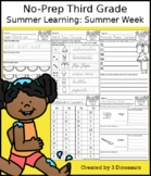 No-Prep Third Grade Summer Learning: Summer Week
