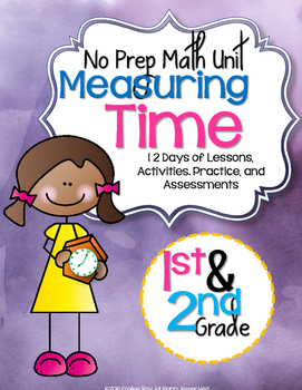 No Prep Time Unit 1st & 2nd Grade {CCSS}