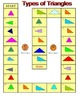 No Prep Triangles Game - Fourth Grade Math 4.G.A.2