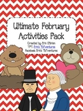 No Prep Ultimate February Activities Pack