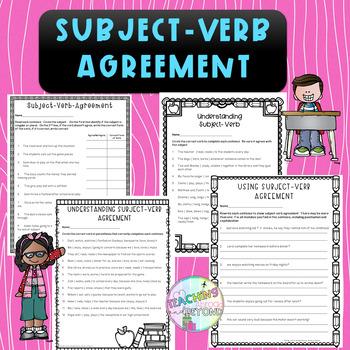 No-Prep - Understanding Subject-Verb Agreement