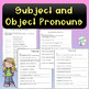 No-Prep - Understanding Subject and Object Pronouns