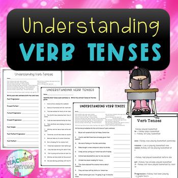 No-Prep - Understanding Verb Tenses