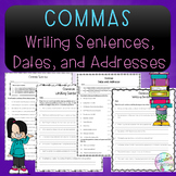 No-Prep - Using Commas in Sentences, Dates, and Addresses