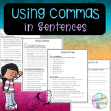 No-Prep - Using Commas in a Sentence