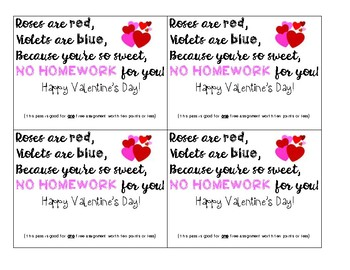 No Prep Valentine Cards ALL Students Will Appreciate