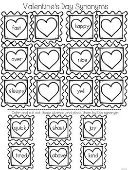 #VDayDeal No Prep Valentine's Day Literacy Activities