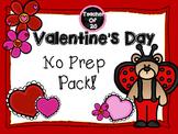 No Prep Valentine's Day Packet