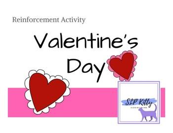 No-Prep Valentine's Day Reinforcement Activity