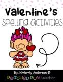 No Prep Valentine's Trolls Day - Word Study / Spelling / Sight Words