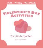 No-Prep Valentine's Day Activities for Kindergarten