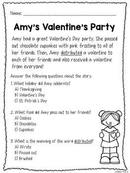 No Prep Valentine's Day Speech and Language Pack
