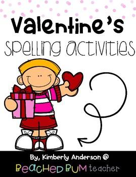 No Prep Valentine's Day - Word Study / Spelling / Sight Words