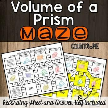 No Prep Volume of a Prism Maze