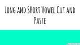 No Prep Vowel Cut and Paste
